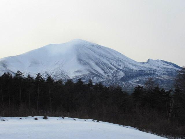 北軽井沢・浅間牧場の雪景色_f0236260_18324794.jpg