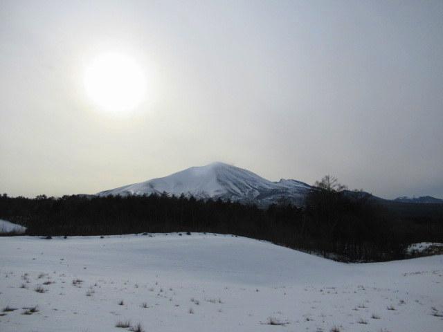 北軽井沢・浅間牧場の雪景色_f0236260_18335450.jpg