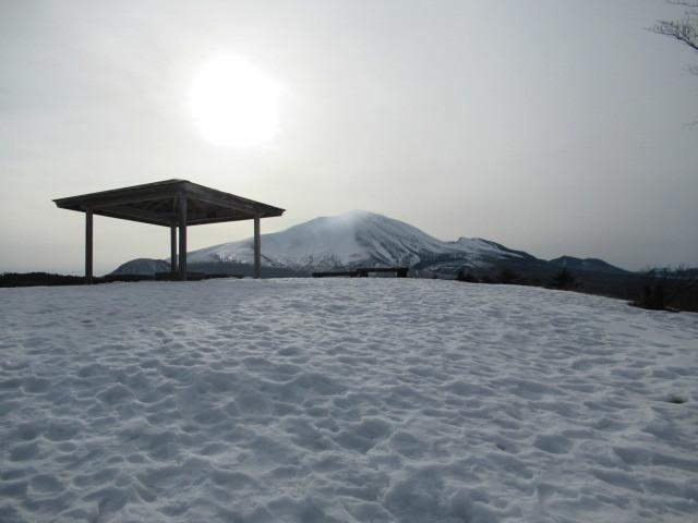 北軽井沢・浅間牧場の雪景色_f0236260_18400697.jpg