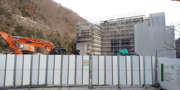 🌞 旧北部処理センターの工事(清掃車両基地・事務所)が進んでいます 🌞 _f0061067_20313088.jpg