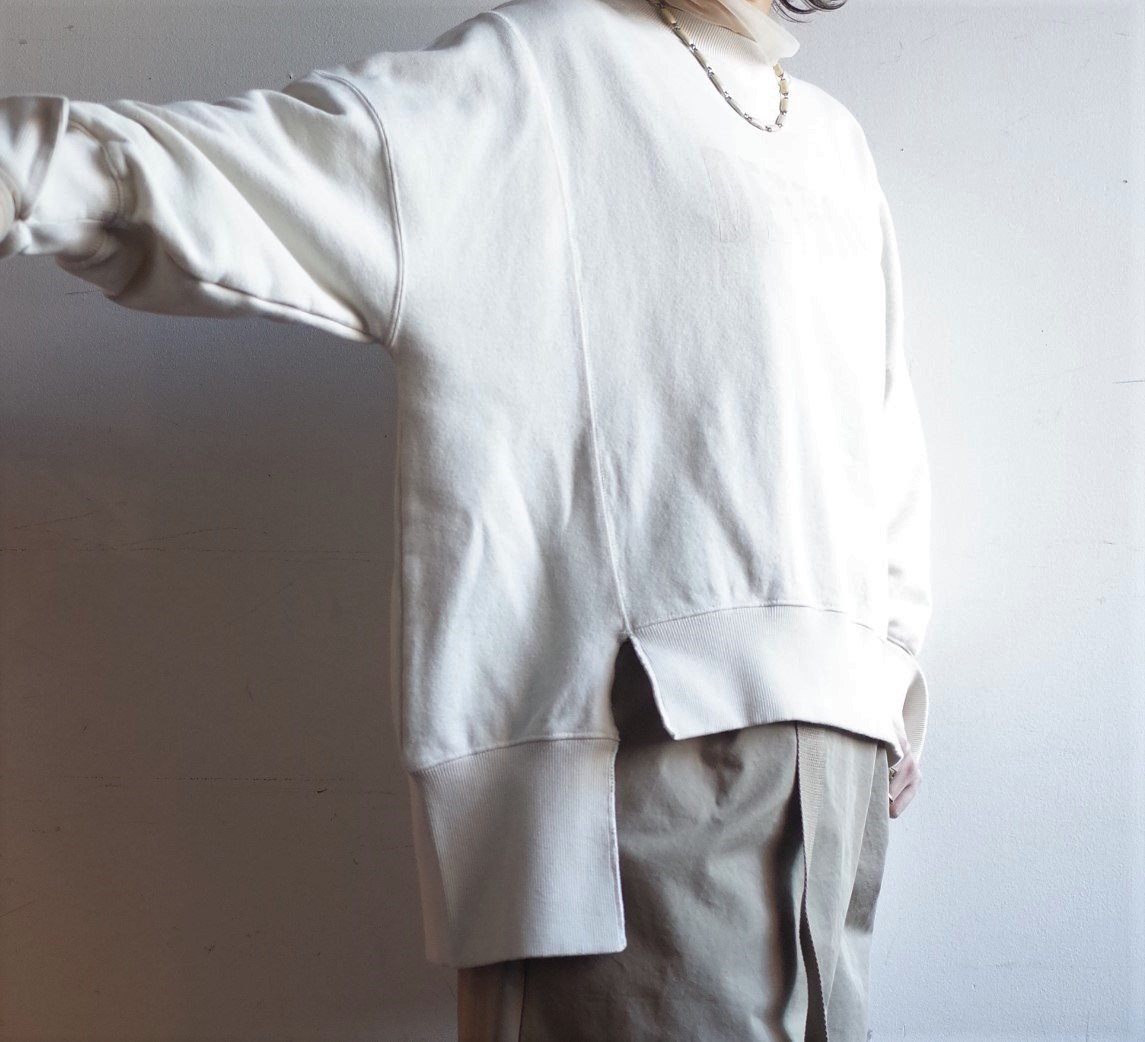 QUINOA BOUTIQUE◆裏毛プリントBIG SWEAT◆_e0269968_13544921.jpg