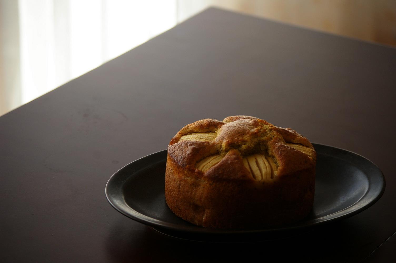 林檎とアールグレイのバターケーキ_d0327373_13354590.jpg