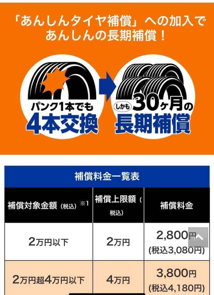タイヤ交換~6年半振り~_c0023278_14212184.jpg
