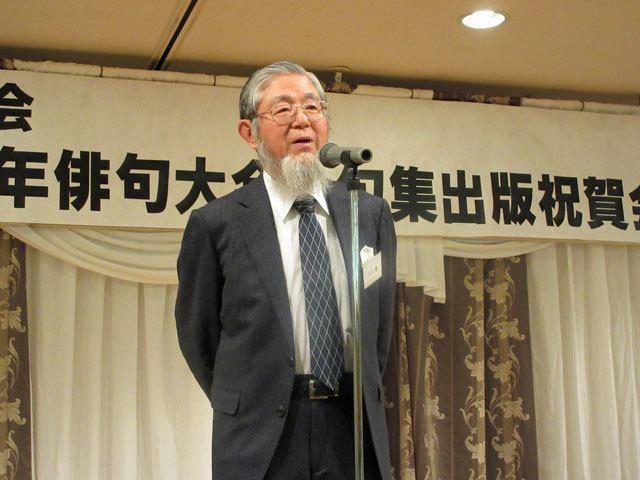 俳誌「爽樹」新年会 俳句大会 出版記念会_f0071480_19052391.jpg