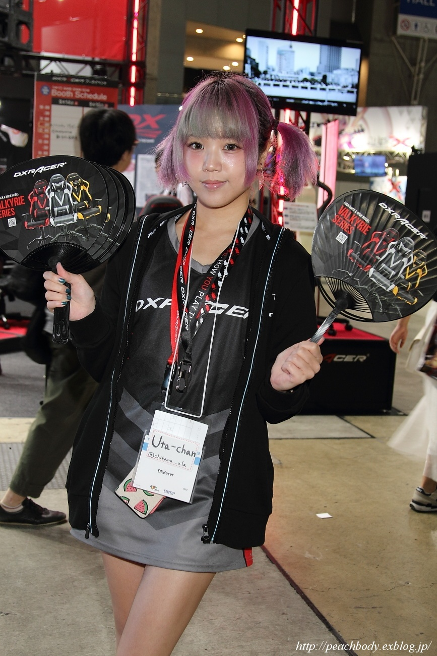 Uta-chan さん(DXRacer ブース)_c0215885_00192571.jpg