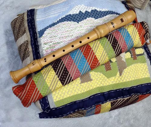 こぎん刺しのトートバッグ 第2弾は冬から春使用♪_a0136293_15085644.jpg