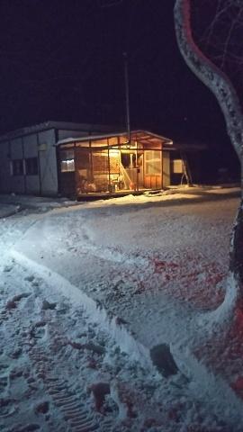 雪・・・降りました_b0343293_21243181.jpg