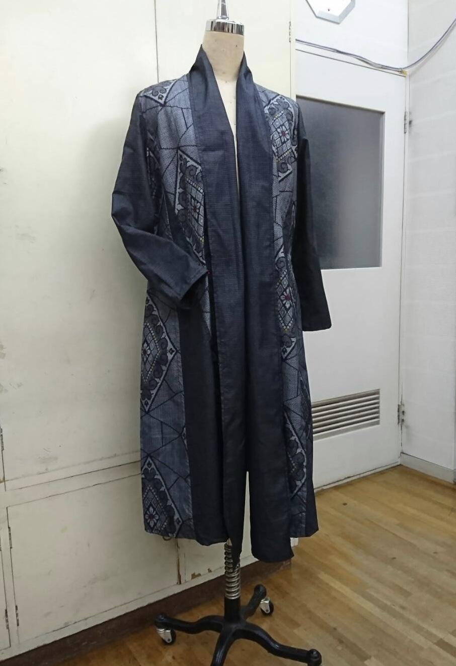 洋裁教室 着物のリメイク作品_d0318597_02440430.jpeg