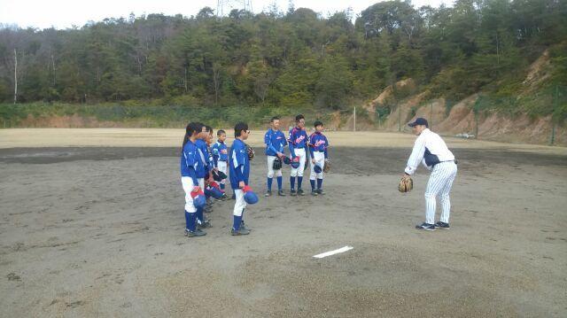 野球教室_a0105698_22254429.jpg