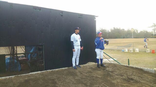 野球教室_a0105698_22254472.jpg