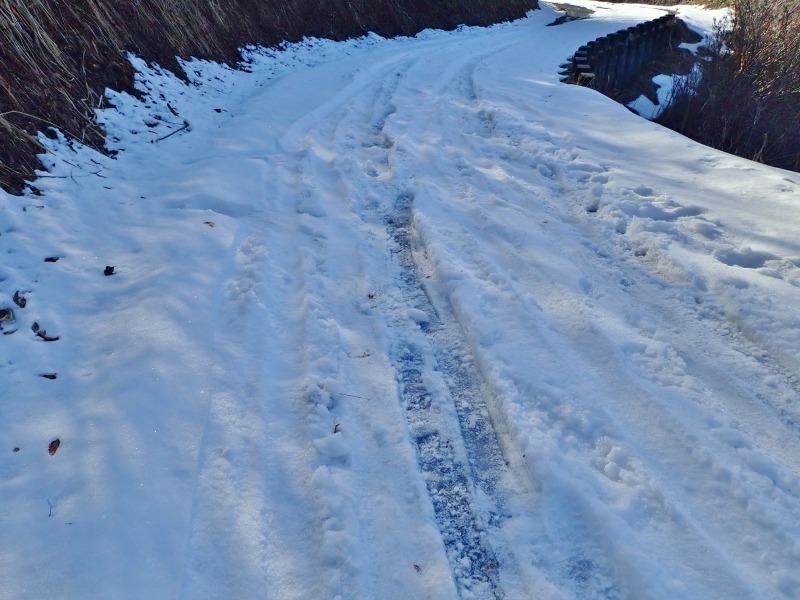 真冬だけどセローで林道へ登ってみました!_c0336902_20494156.jpg