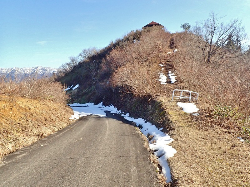 真冬だけどセローで林道へ登ってみました!_c0336902_20494531.jpg