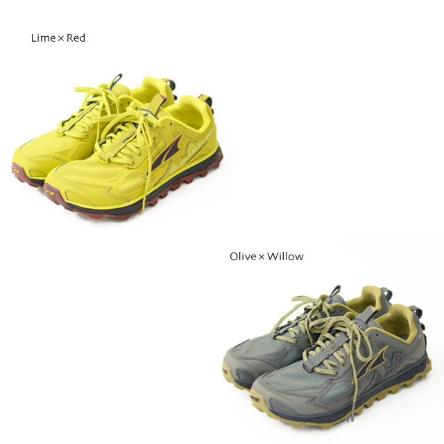 ALTRA [アルトラ] LONE PEAK 4.5 M [AL0A4PE] トレイルラン、ハイキング、 Lime×Red / Olive×Willow MEN\'S _f0051306_18111683.jpg