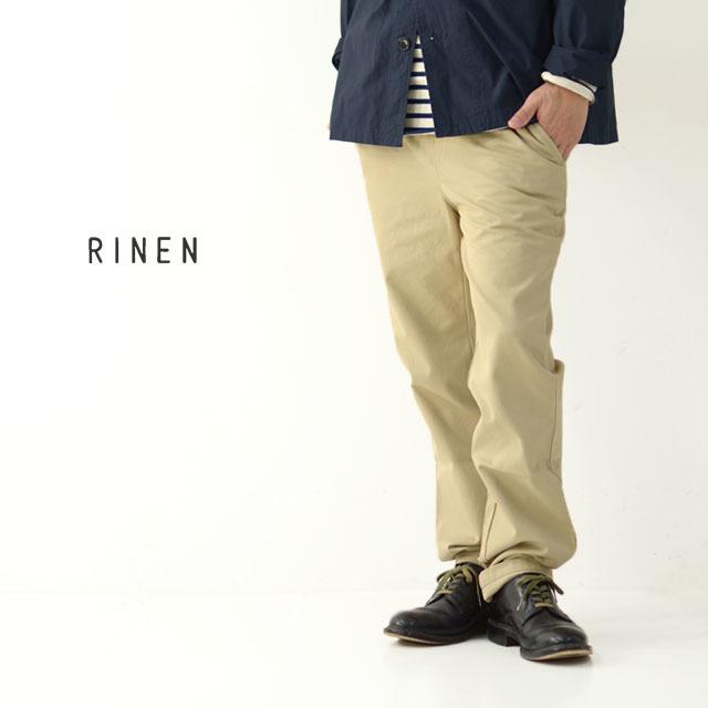 RINEN[リネン] 40/2 ギャバ イージーパンツ [48002] イージーパンツ・コットンパンツ・MEN\'S _f0051306_18180049.jpg