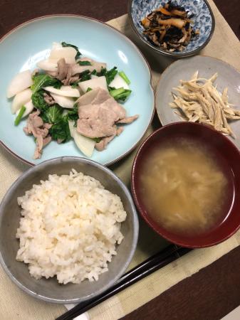かぶと豚肉の炒め物_d0235108_20110879.jpg
