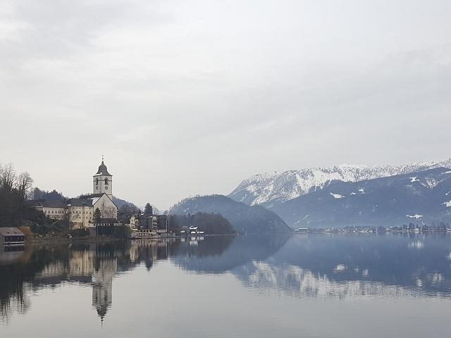 2020年1月 ヴォルフガング湖の冬景色_c0167813_06415443.jpg