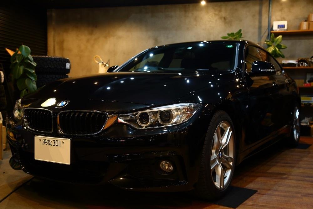BMW420iグランクーペ ご納車準備進行中_f0105425_18255611.jpg