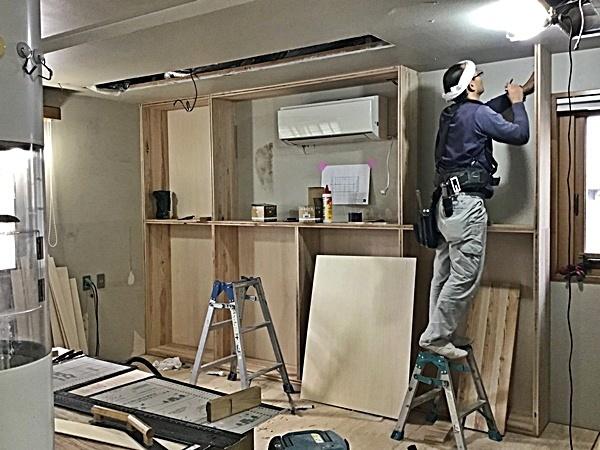 事務所の改修工事_c0019551_07555889.jpg