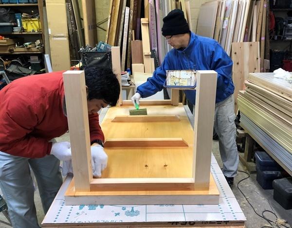 新年最初の家具の仕事_c0019551_10391582.jpg
