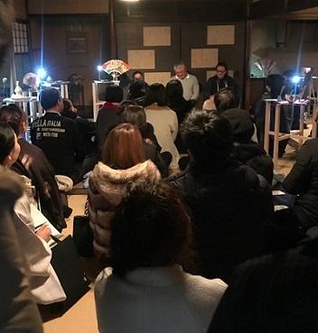 京都伝統産業青年会展・輪違屋・傘の間・紅葉の間。_f0181251_18334956.jpg