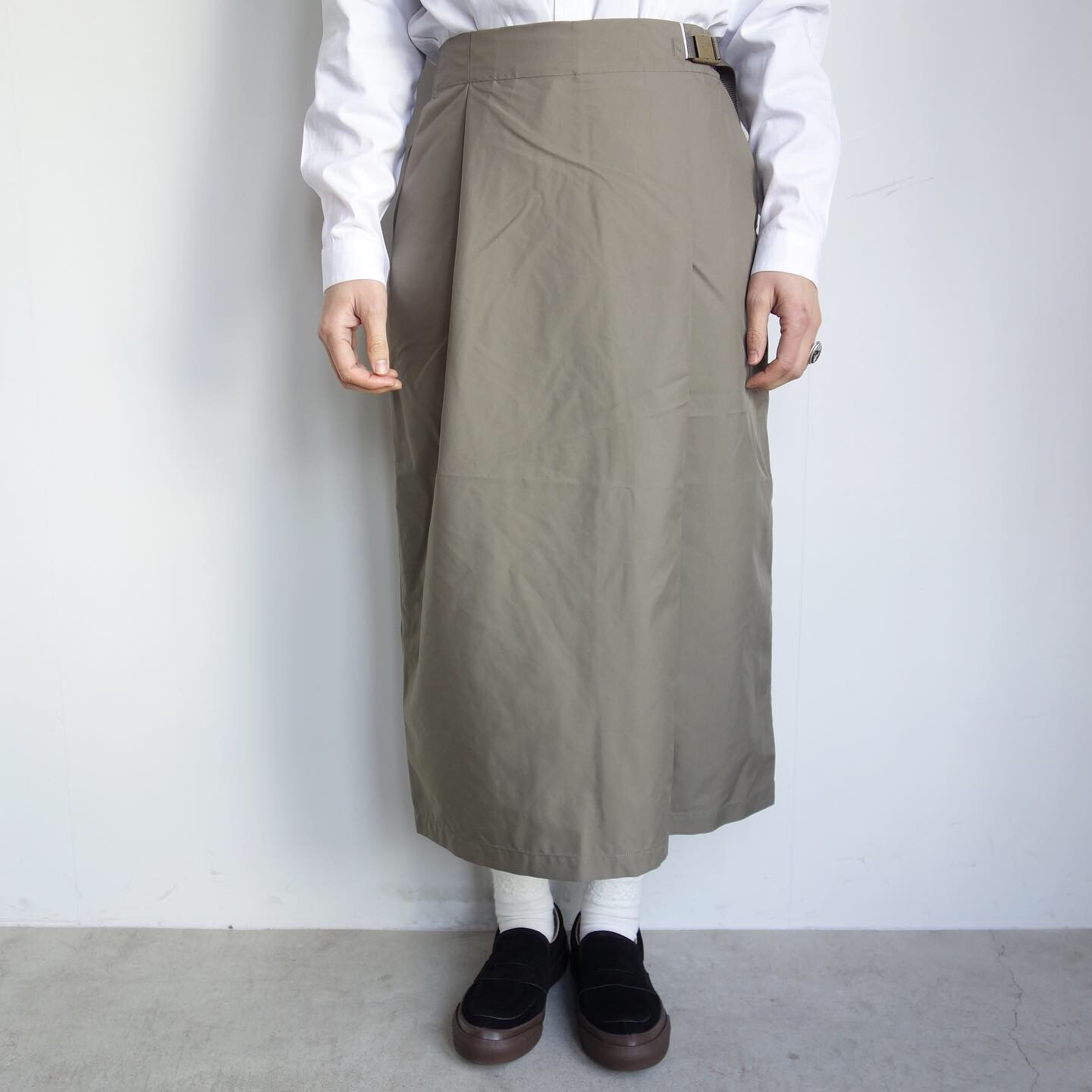 THE NORTH FACE PURPLE LABEL : High Multi Polyester Twil Field Skirt_a0234452_13080342.jpg