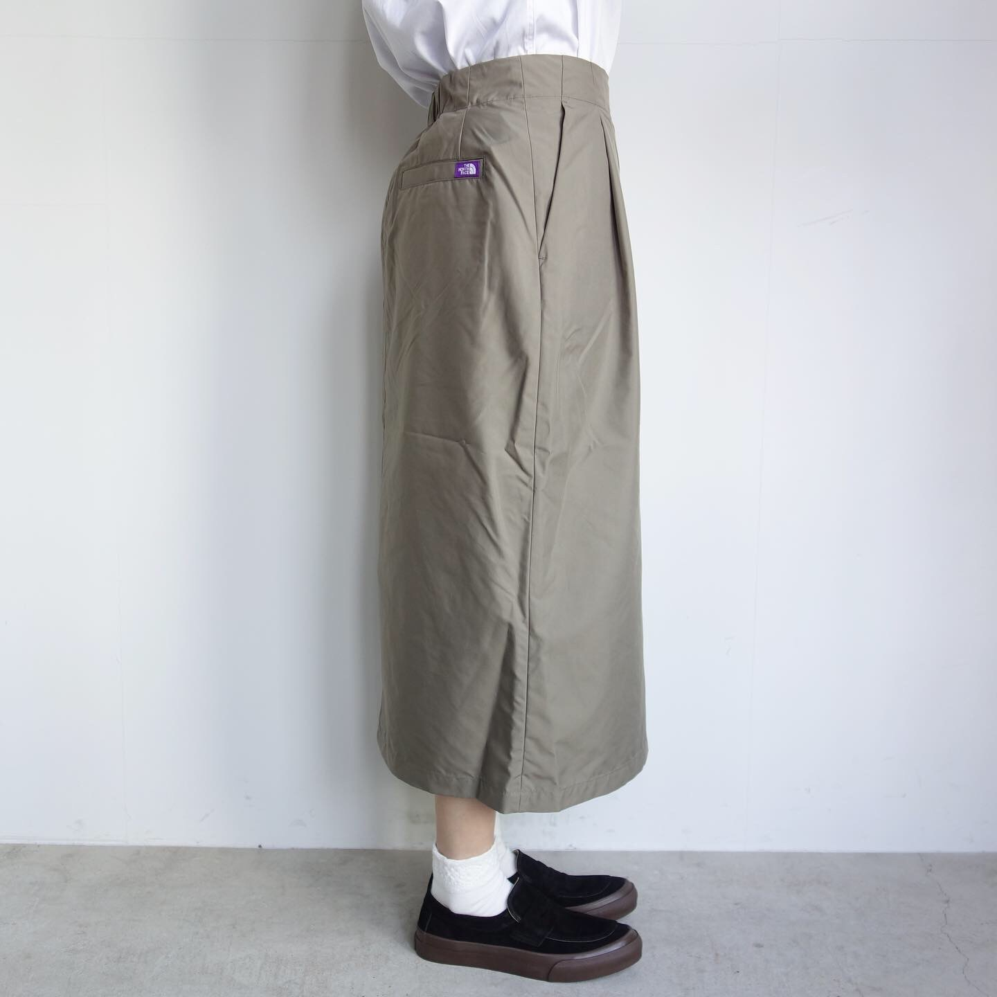 THE NORTH FACE PURPLE LABEL : High Multi Polyester Twil Field Skirt_a0234452_13080764.jpg