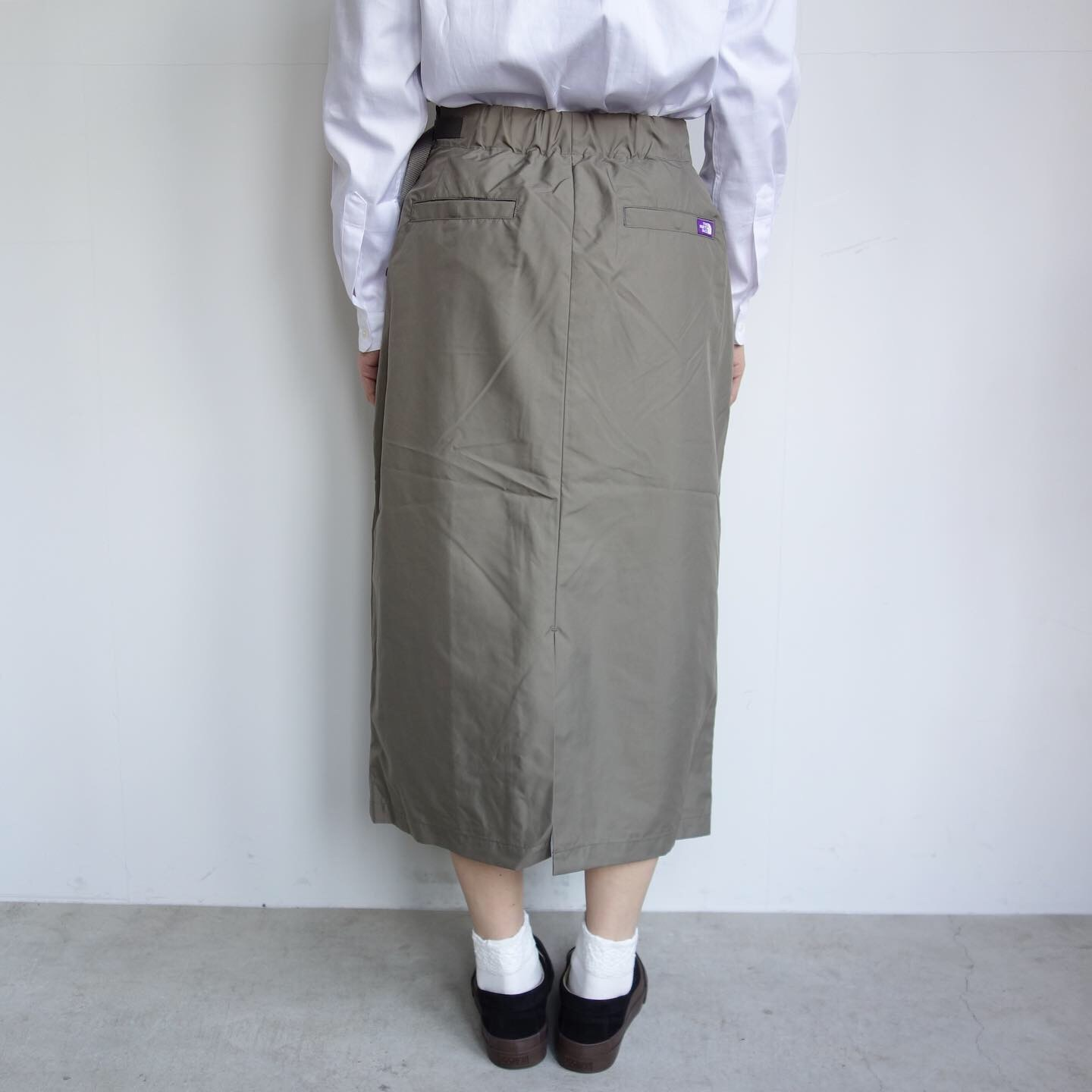 THE NORTH FACE PURPLE LABEL : High Multi Polyester Twil Field Skirt_a0234452_13081194.jpg