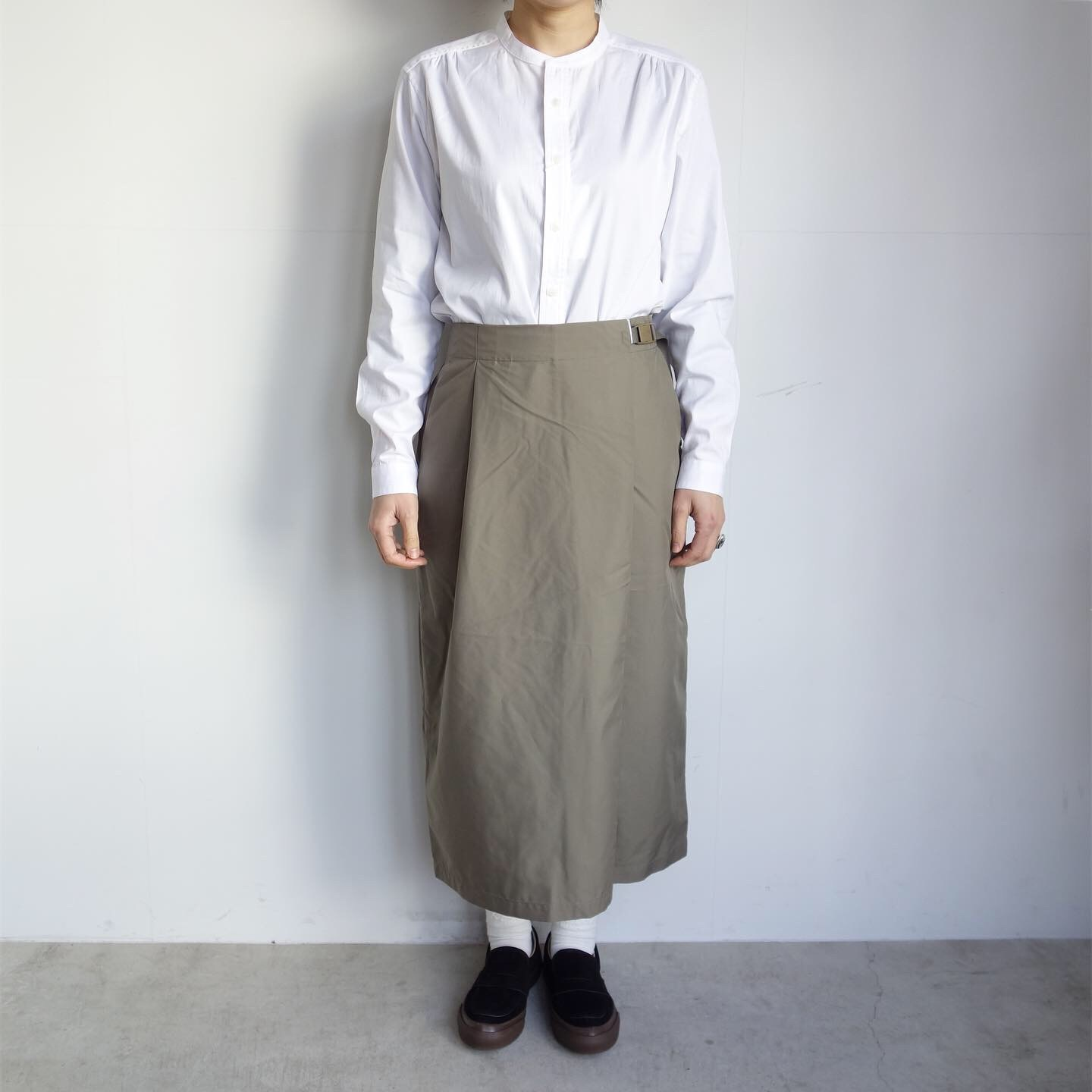 THE NORTH FACE PURPLE LABEL : High Multi Polyester Twil Field Skirt_a0234452_13081598.jpg