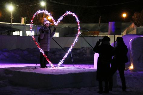 ~雪と光のアート~十和田湖冬物語2020開幕_f0237658_11574919.jpg