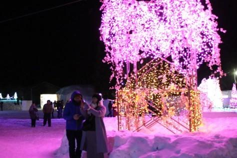 ~雪と光のアート~十和田湖冬物語2020開幕_f0237658_11580588.jpg