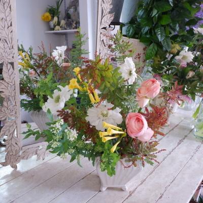 オークリーフ花の教室(山田さんの作品)_f0049672_19082434.jpg
