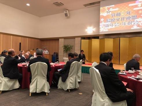 文化連盟の新年会:心の食べ物_c0052876_20093864.jpg