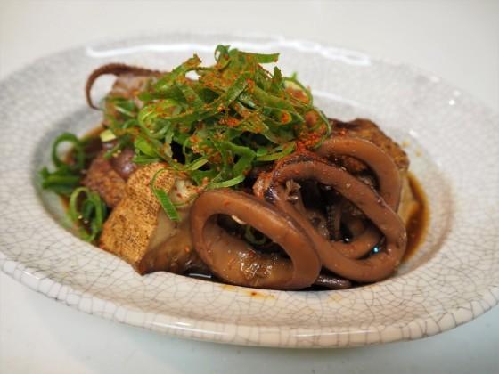 濃い味いか豆腐_a0258686_08071825.jpg