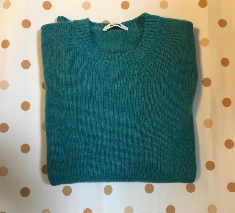 カシミアのセーターを洗濯してみた_f0378589_08443089.jpg