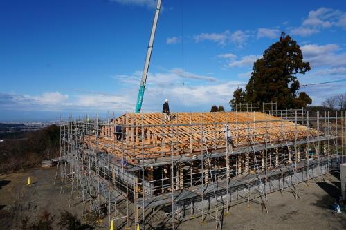 進捗状況「Vin de la bocchi farm & wineryワイナリー建設工事(建築工事)」_d0095305_16123056.jpg