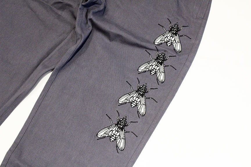 """BUTTER GOODS (バターグッズ) \"""" Swarm Embroidered Pants \""""_b0122806_12535052.jpg"""