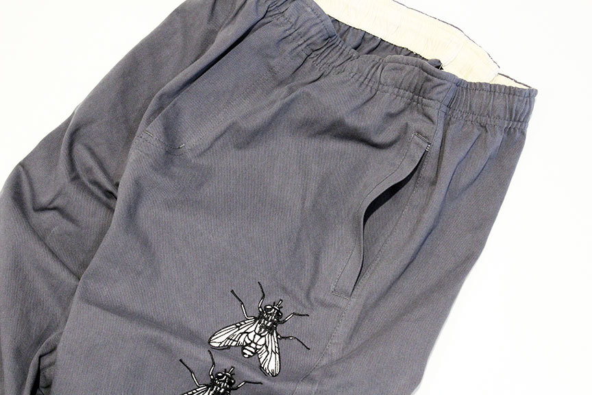 """BUTTER GOODS (バターグッズ) \"""" Swarm Embroidered Pants \""""_b0122806_12540255.jpg"""