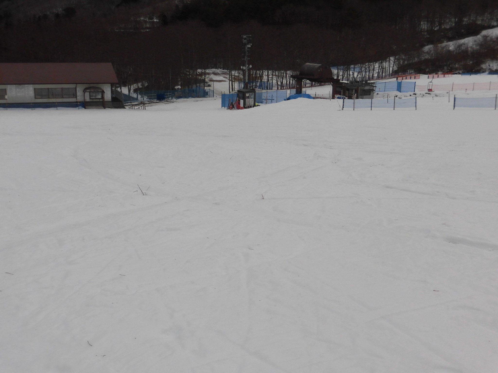 令和2年1月28日(火) 天気:曇 気温:-3℃ 積雪:20㎝ 一部滑走可能_e0306207_08105784.jpg
