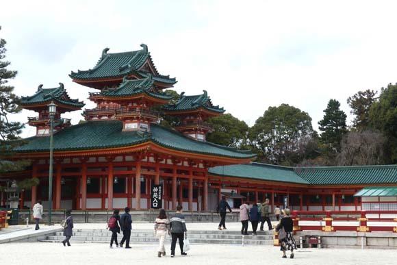 冬の平安神宮_e0048413_21324045.jpg