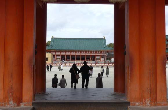 冬の平安神宮_e0048413_21324544.jpg