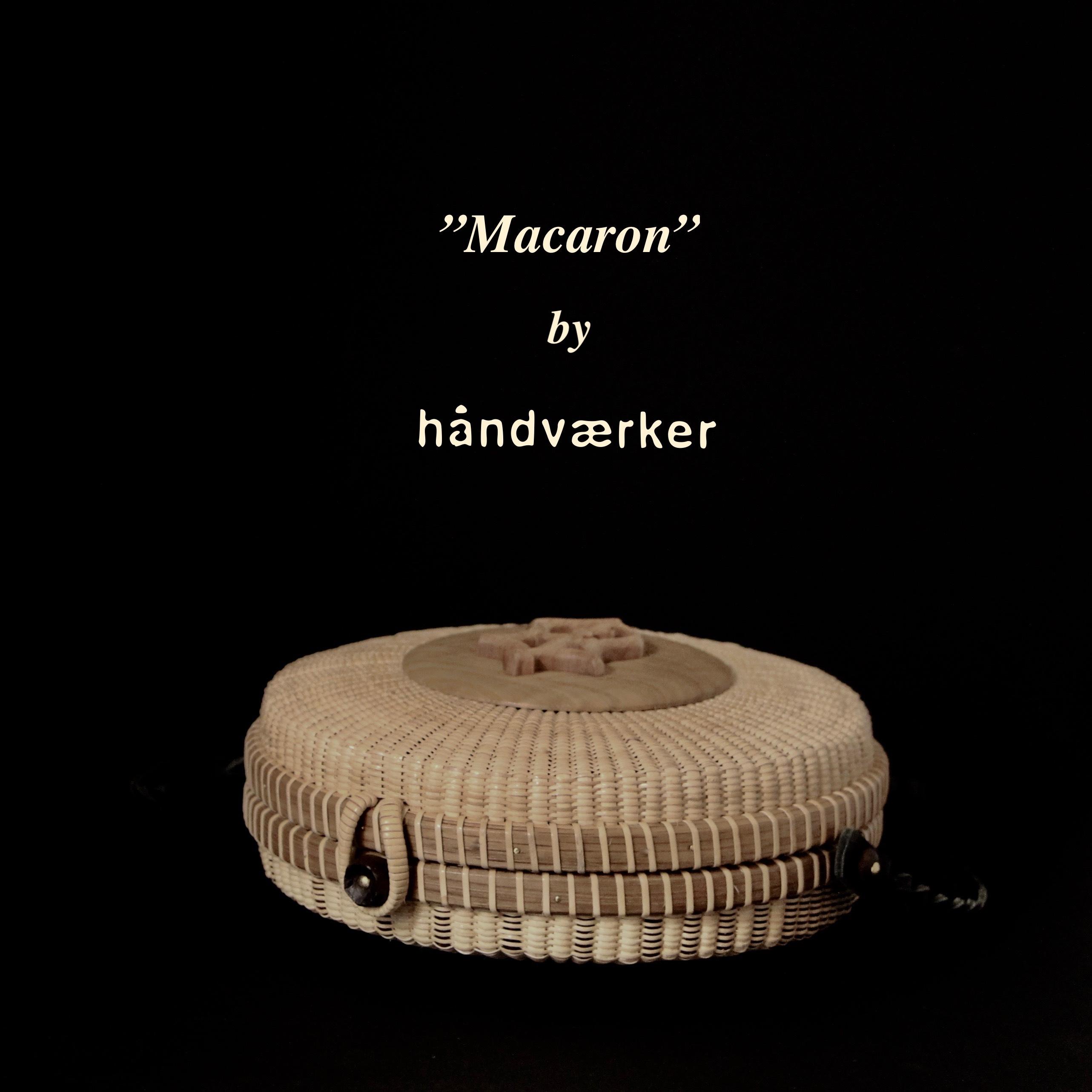 "\""Macaron\"" 7inch round clutch_f0197215_14492644.jpeg"