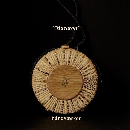 "\""Macaron\"" 7inch round clutch_f0197215_14492739.jpeg"