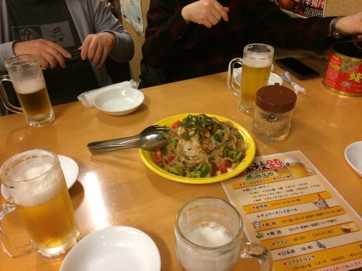 136会じゃないよ! Just ~New year\'s drinking party!!_e0036217_23480251.jpg
