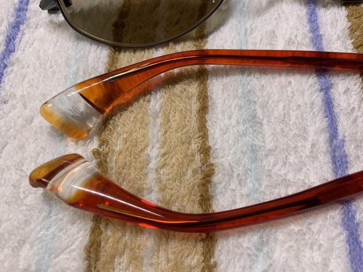 16年使ったメガネフレームを磨く!_f0103126_19190987.jpg