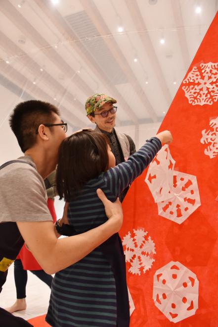 ワークショップ「みんなで飾るクリスマスドーム」を開催しました!_c0222139_14054493.jpg