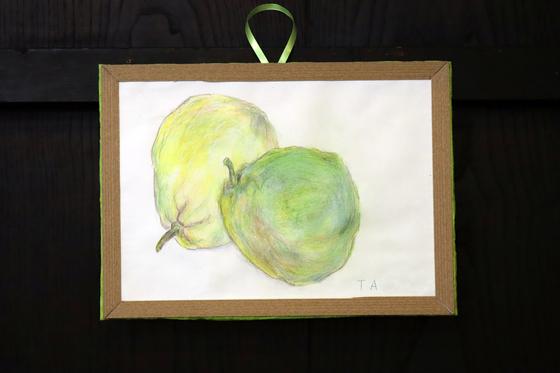 色鉛筆画 ~ レモン ~_e0222340_14542347.jpg