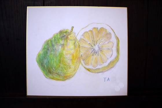 色鉛筆画 ~ レモン ~_e0222340_1454898.jpg