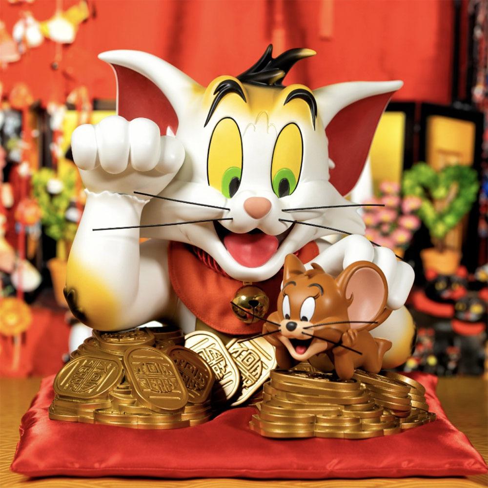 トムとジェリー・バスト、招き猫版、近日予約開始_a0077842_21555213.jpg