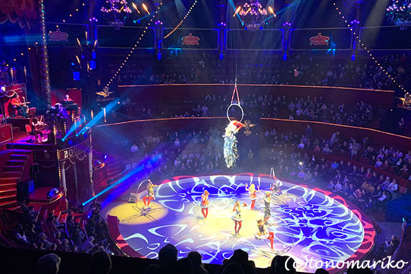 パリの冬イベント「冬のサーカス」_c0024345_20492845.jpg
