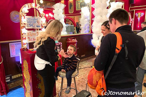パリの冬イベント「冬のサーカス」_c0024345_20492922.jpg